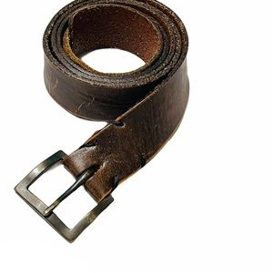 Banana Republic genuine leather distressed belt 42